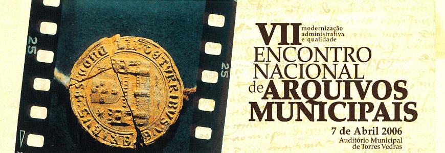 7º Encontro Nacional de Arquivos Municipais